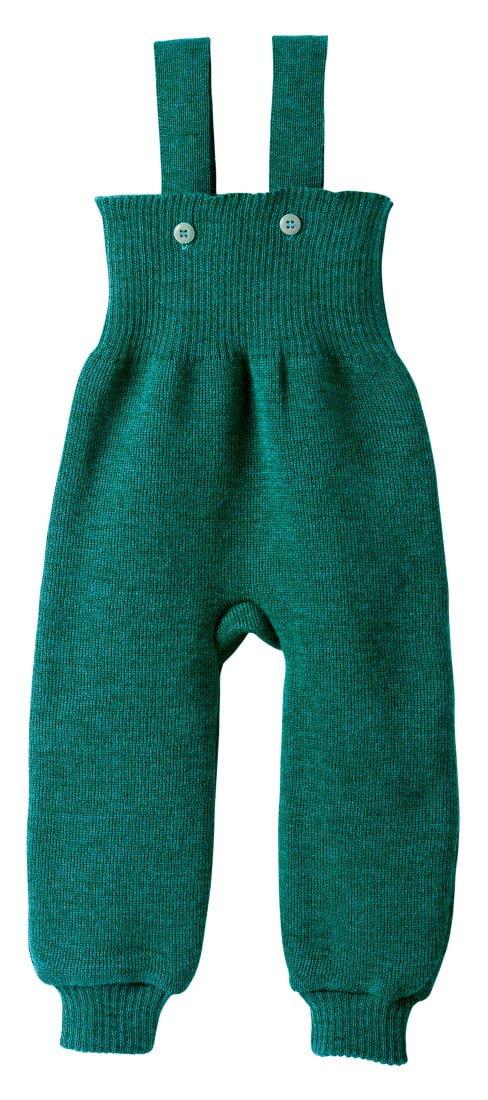 Pantaloni salopetă pacific din lână merinos Disana