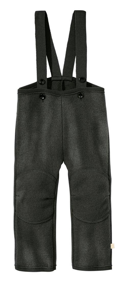 Pantaloni din lână merinos boiled wool anthracite Disana