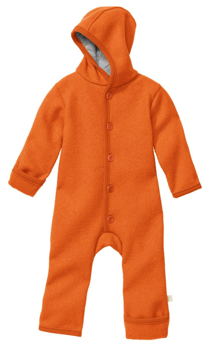 Overall Disana din lână merinos boiled wool Orange