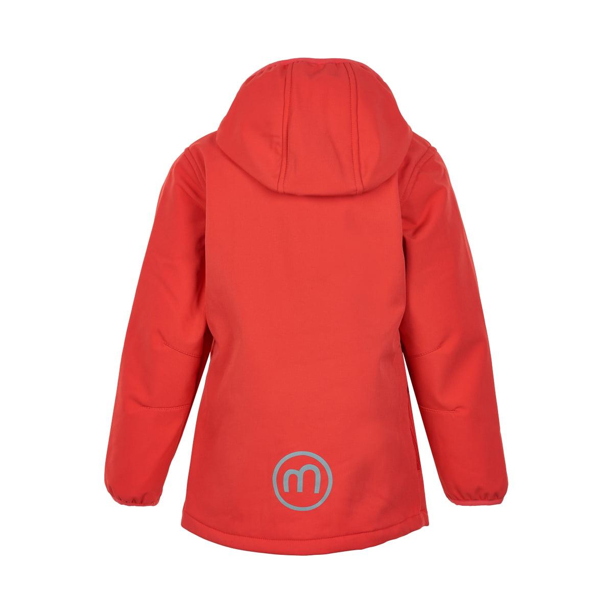 Jachetă de ploaie și vânt (impermeabilă) din softshell căptușită integral cu fleece Hibiscus Minymo 1