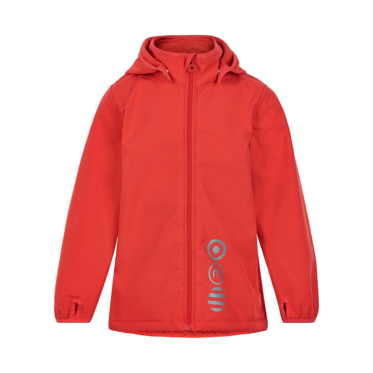 Jachetă de ploaie și vânt (impermeabilă) din softshell căptușită integral cu fleece Hibiscus Minymo