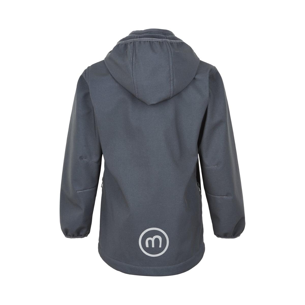 Jachetă de ploaie și vânt (impermeabilă) din softshell căptușită integral cu fleece India Ink Minymo 1