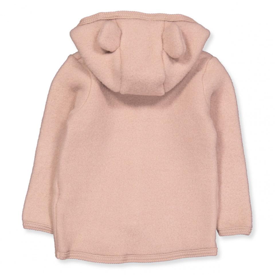 Jachetă din lână fleece Jackie Dusty Rose HUTTEliHUT 1