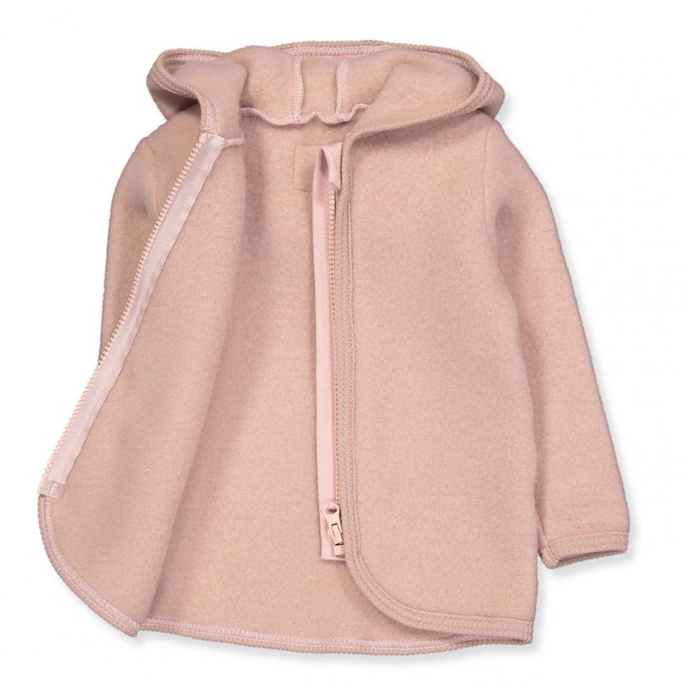 Jachetă din lână fleece Jackie Dusty Rose HUTTEliHUT 2