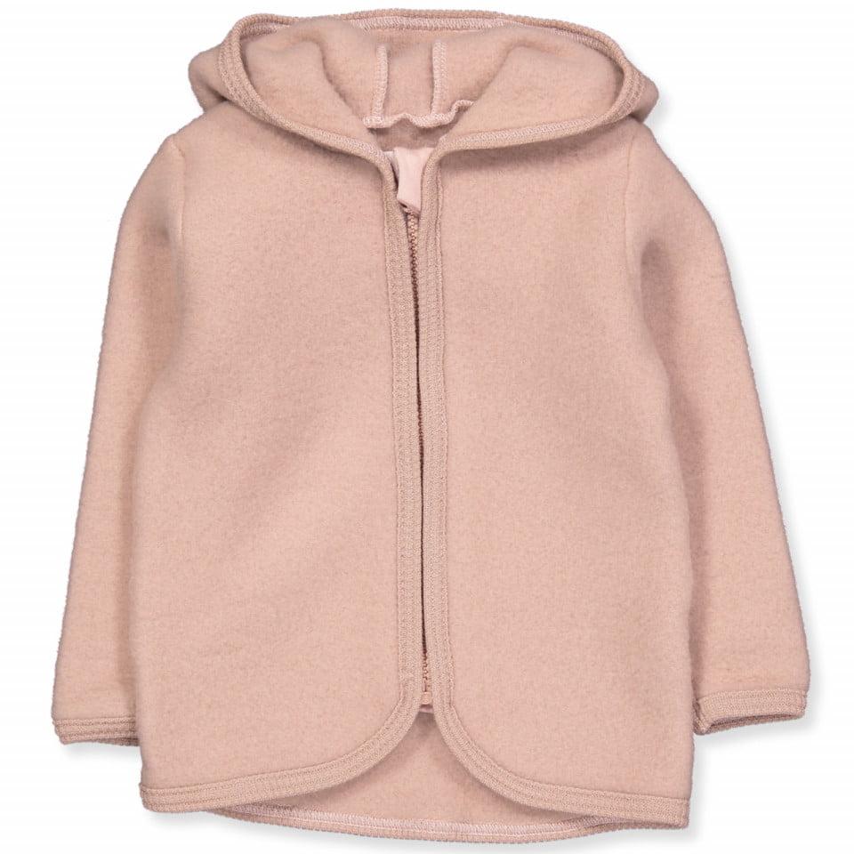 Jachetă din lână fleece Jackie Dusty Rose HUTTEliHUT