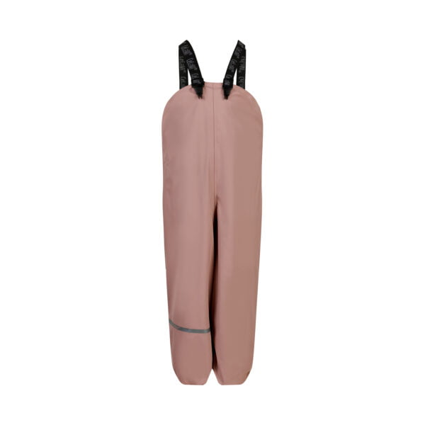Pantaloni de ploaie și vânt căptușiți integral cu fleece misty rose CeLaVi