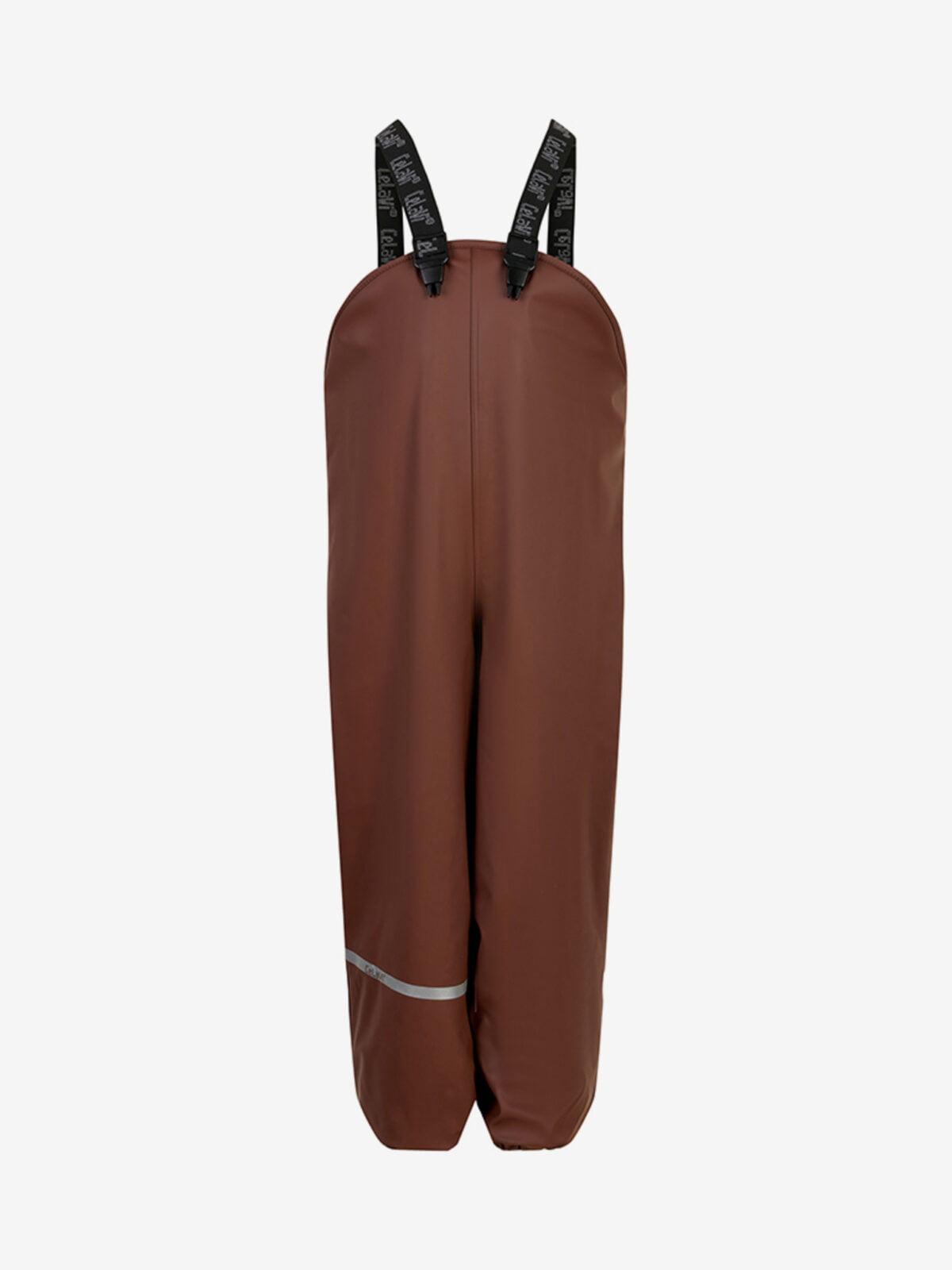 Pantaloni de ploaie și vânt căptușiți integral cu fleece rocky road CeLaVi