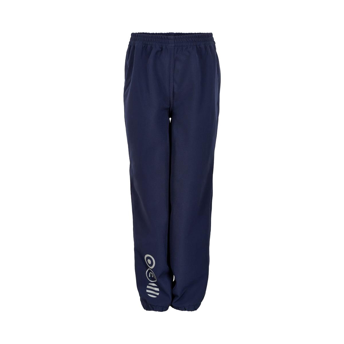 Pantaloni de ploaie și vânt (impermeabili) din softshell căptușiți integral cu fleece Navy Minymo