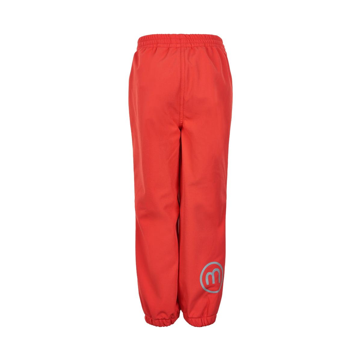 Pantaloni de ploaie și vânt (impermeabili) din softshell căptușiți integral cu fleece hibiscus Minymo 1