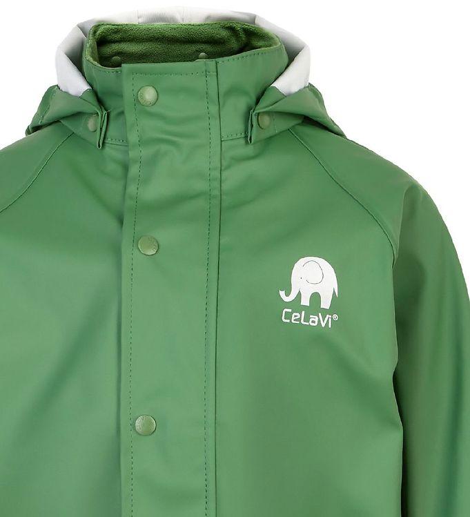 Set de ploaie și vânt (impermeabil) elm green CeLavi 1