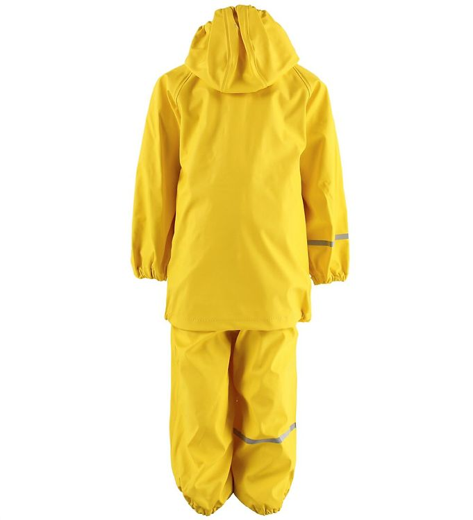 Set de ploaie și vânt (impermeabil) yellow CeLavi 1