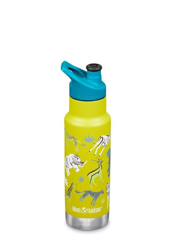 Sticlă termos recipient termoizolant cu capac sport Kid Classic Safari Matte 355 ml Klean Kanteen