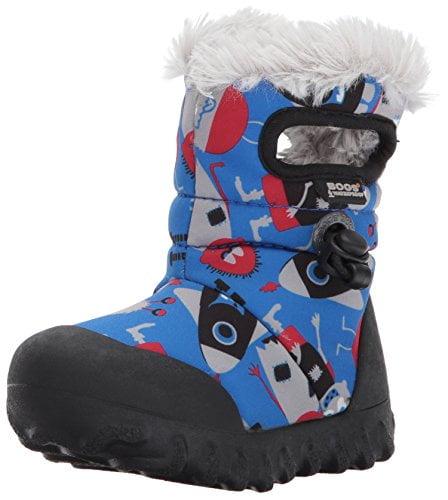 BOGS Footwear cizme de iarnă impermeabile B-MOC Monsters Blue Multi
