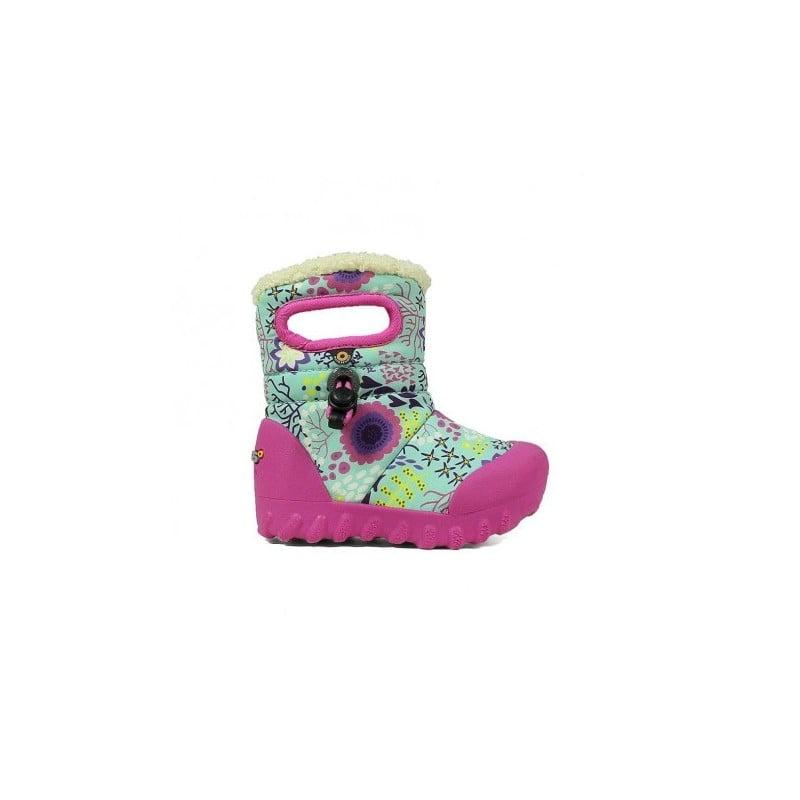 BOGS Footwear cizme de iarnă impermeabile B-MOC Reef Mint Multi 2