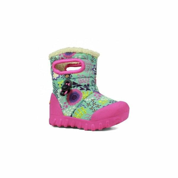 BOGS Footwear cizme de iarnă impermeabile B-MOC Reef Mint Multi