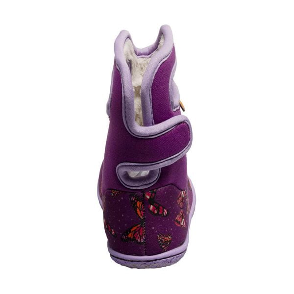BOGS Footwear cizme de iarnă impermeabile Baby Bogs Butterfly Purple Multi 2