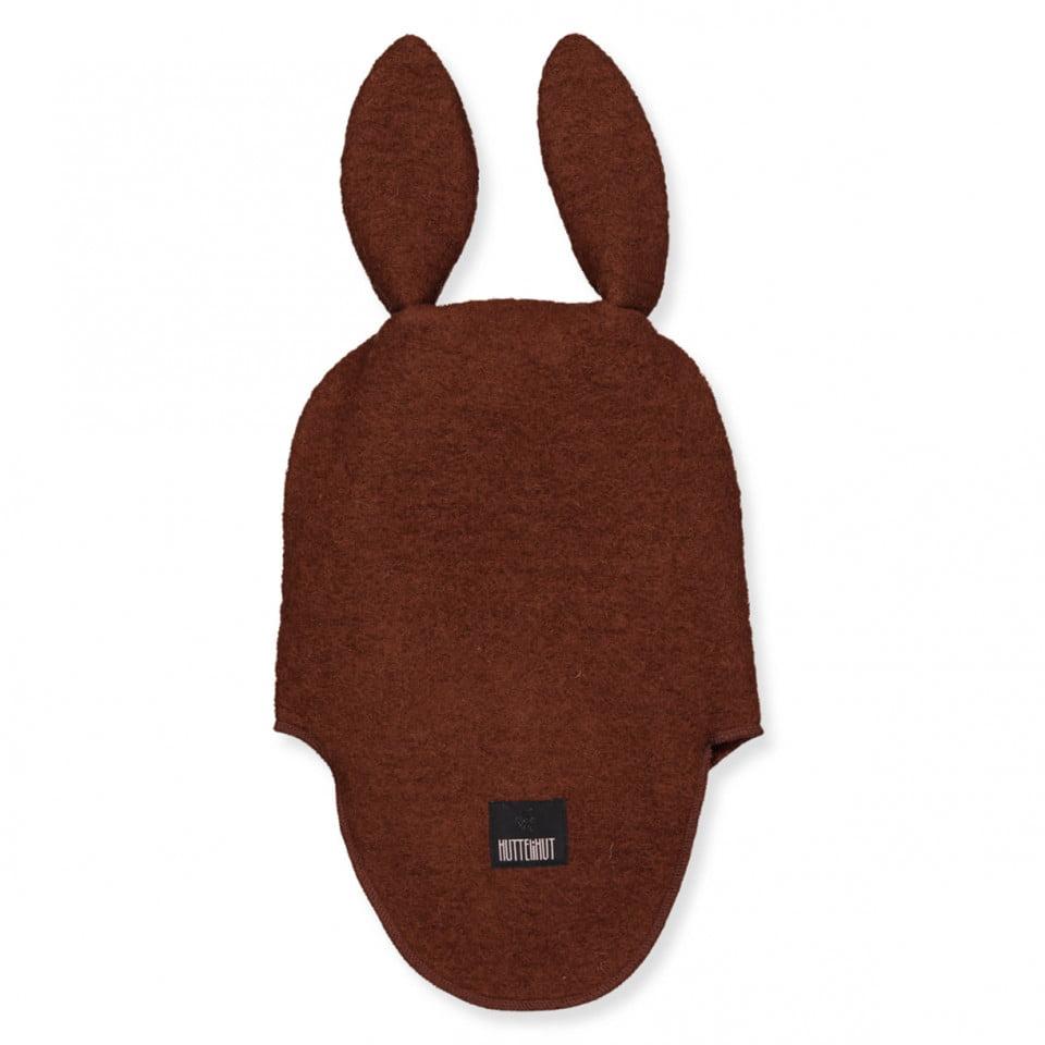 Cagulă dublată din lână merinos boiled wool Bunny Oak HUTTELiHUT 1