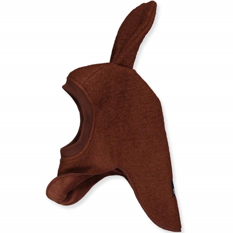 Cagulă dublată din lână merinos boiled wool Bunny Oak HUTTELiHUT 2