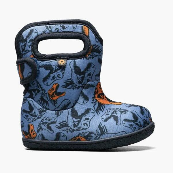 Cizme de iarnă impermeabile Baby Bogs Cool Dinos Blue Multi