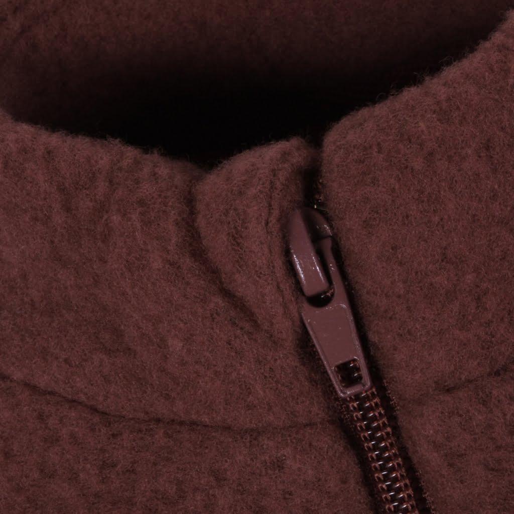 Jachetă din lână merinos fleece andorra Mikk-line 2