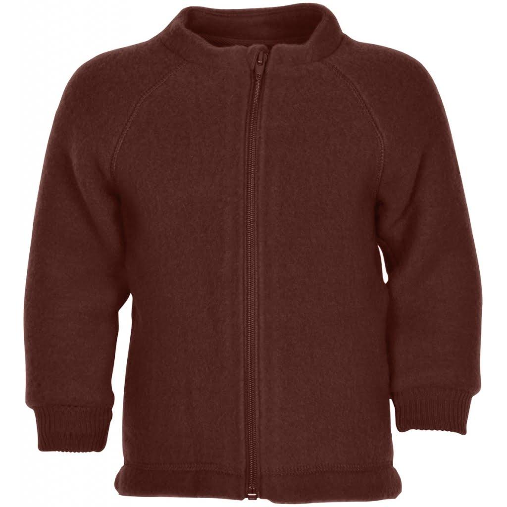Jachetă din lână merinos fleece andorra Mikk-line