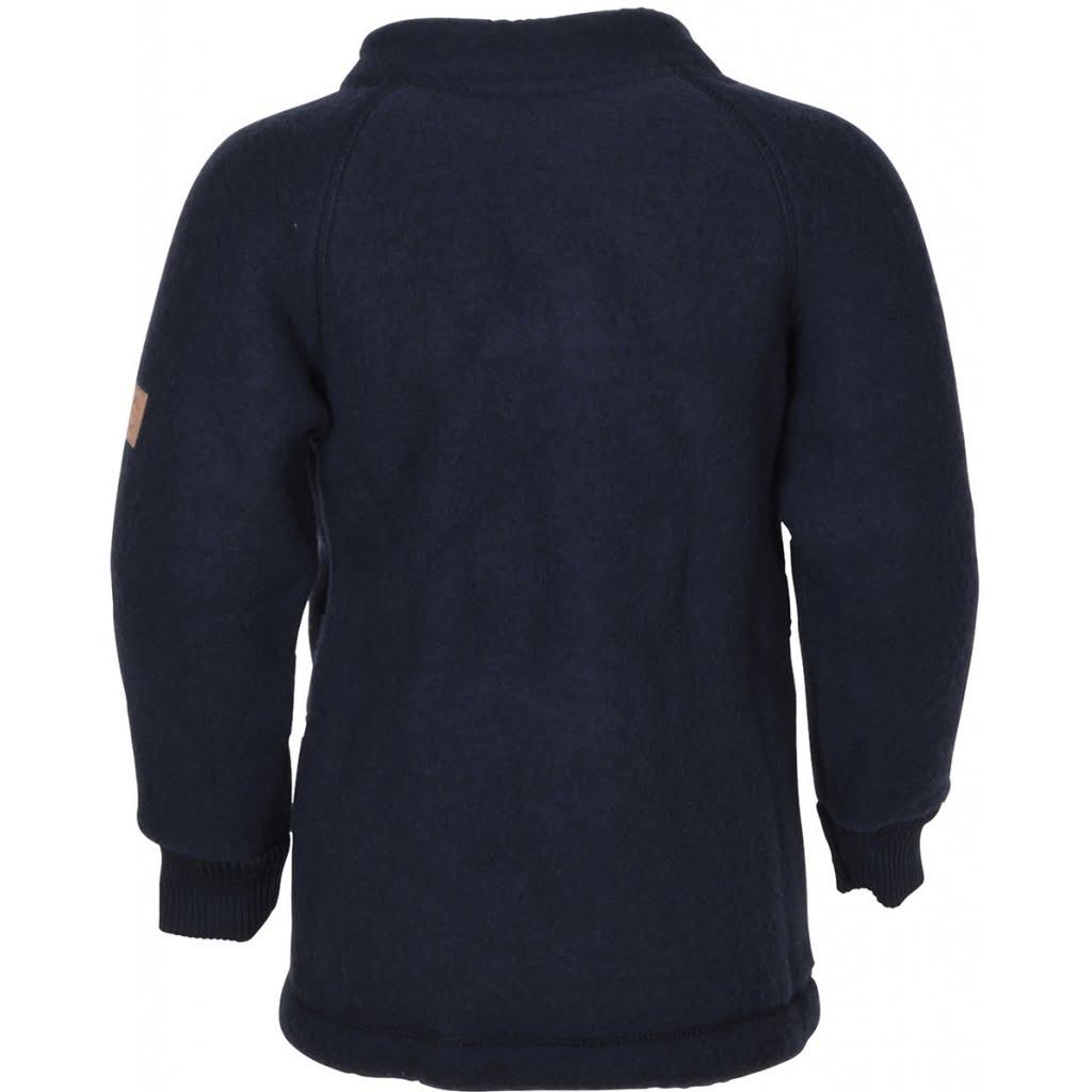 Jachetă din lână merinos fleece blue nights Mikk-line 1