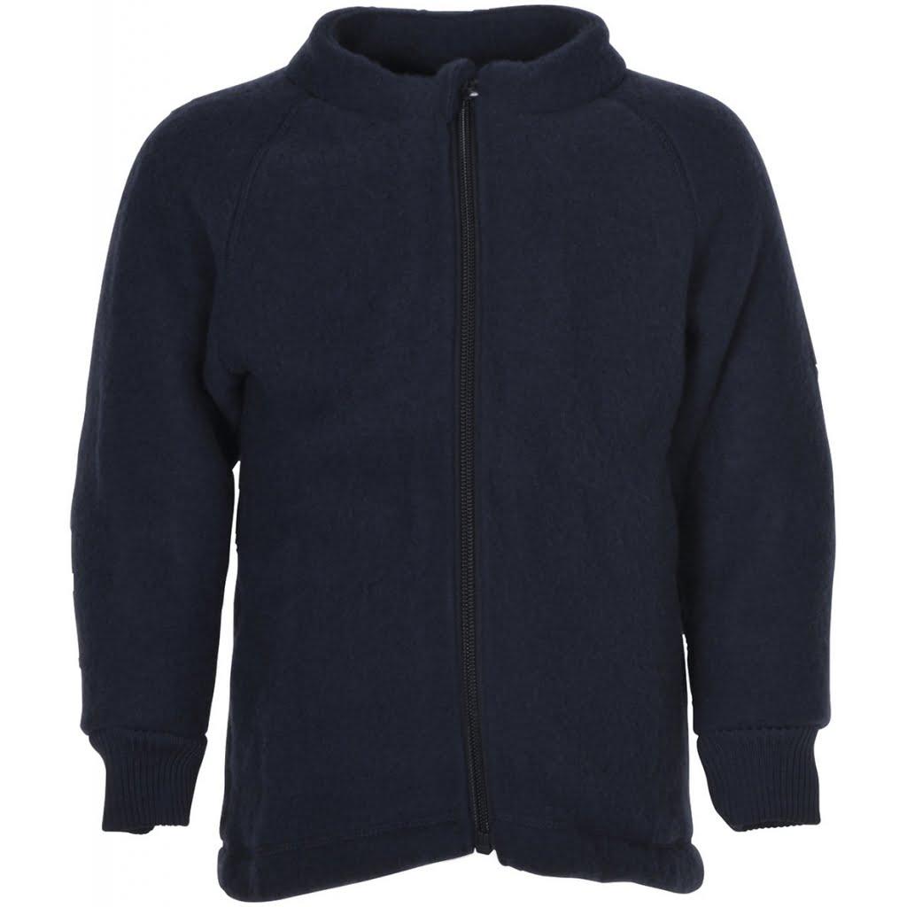 Jachetă din lână merinos fleece blue nights Mikk-line
