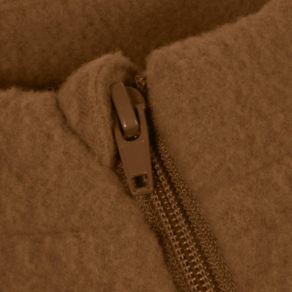 Jachetă din lână merinos fleece rubber Mikk-line 2