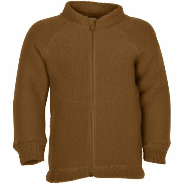 Jachetă din lână merinos fleece rubber Mikk-line