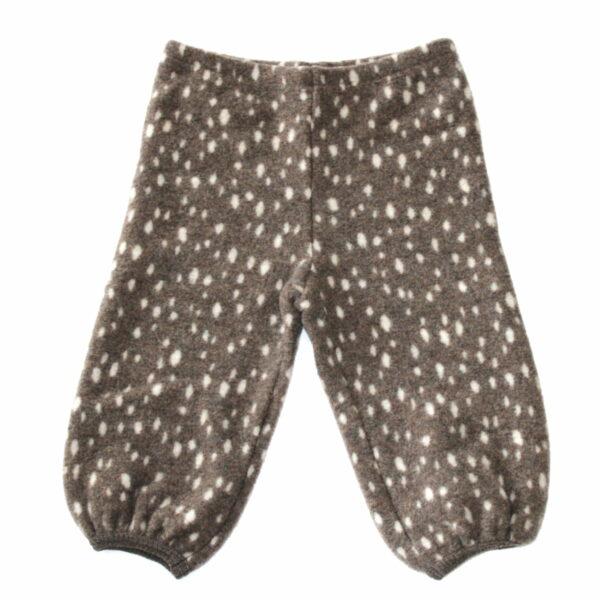 Pantaloni din lână fleece Leggi Bambi HUTTEliHUT