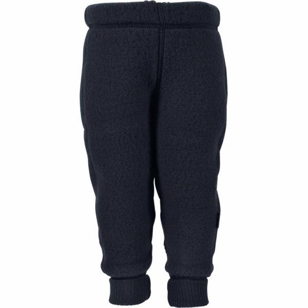 Pantaloni din lână merinos fleece blue nights Mikk-line